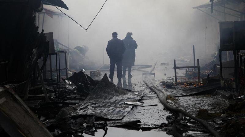 امرأة تفجر نفسها قرب مركز للشرطة في عاصمة الشيشان