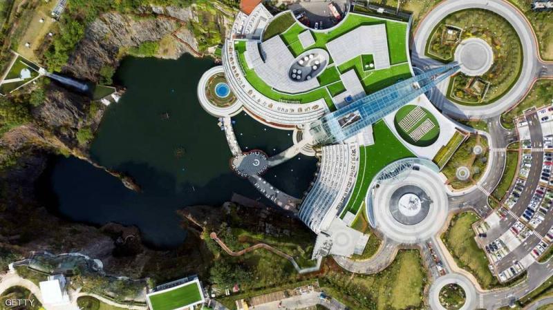 تدشين أول فندق تحت الأرض: الصين تحوّل منجما إلى فندق فاخر