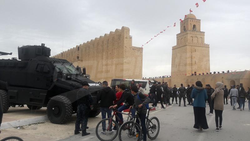 القيروان: تعزيزات أمنية مكثفة لتأمين احتفالات المولد النبوي