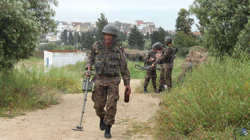 جبل السلوم: الوحدات العسكرية تفجّر لغما زرعته المجموعات الإرهابية