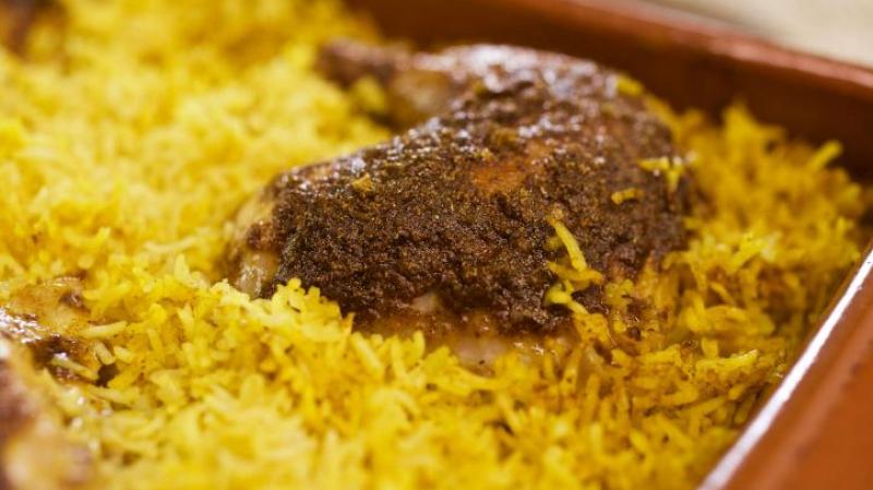 طبق أرز