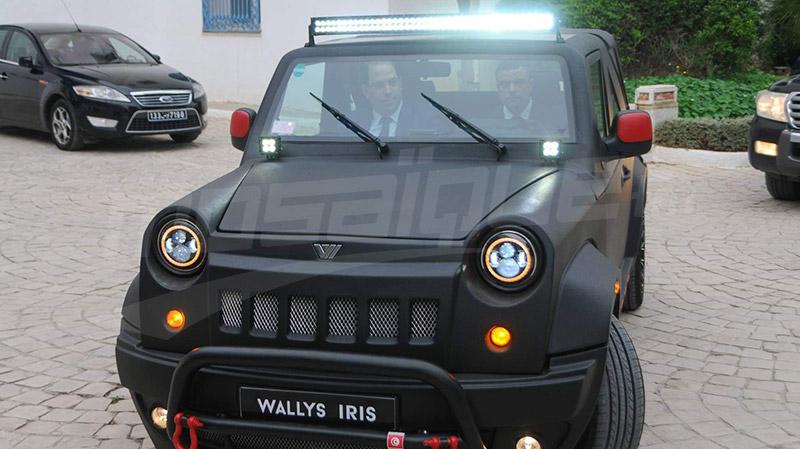خبر وطني الشاهد يتحول إلى البرلمان في سيارة تونسية الصنع