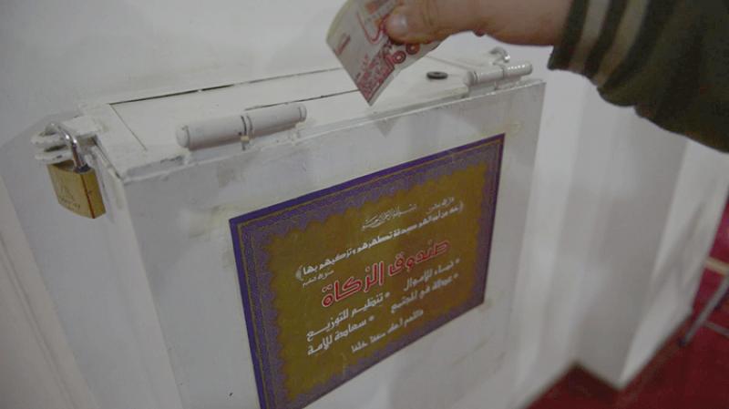سحب صناديق الزكاة والتبرعات من المساجد في الجزائر