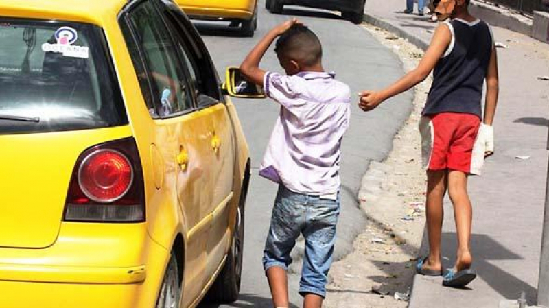 مؤشرات عن الطفولة في تونس: 'حرقة' وتشرّد وتسوّل