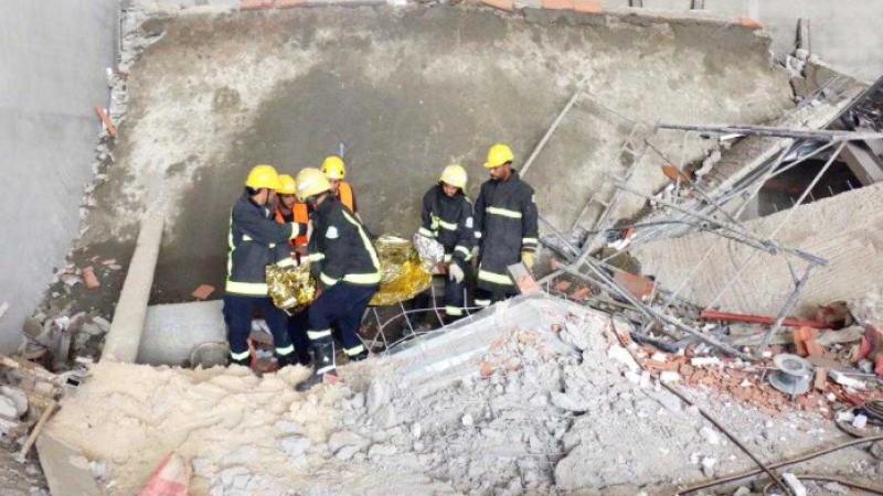سقوط سقف بناية قيد الإنجاز: نائب يدعو إلى محاسبة المسؤولين