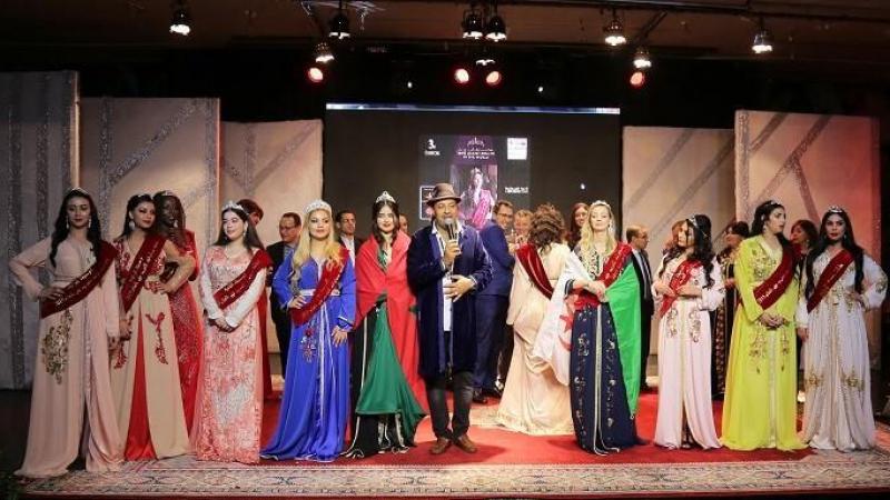 مغربية تفوز بلقب ملكة حسناوات العرب