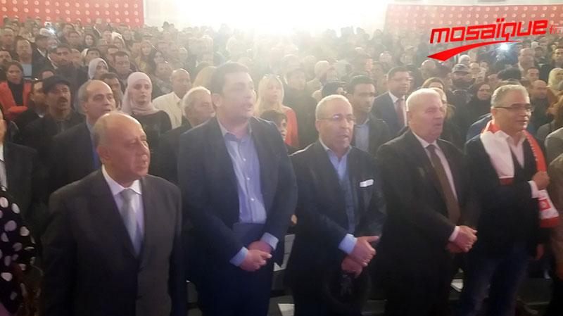 إياد الدهماني ''ناشط سياسي'' في الاجتماع الشعبي لمشروع تونس