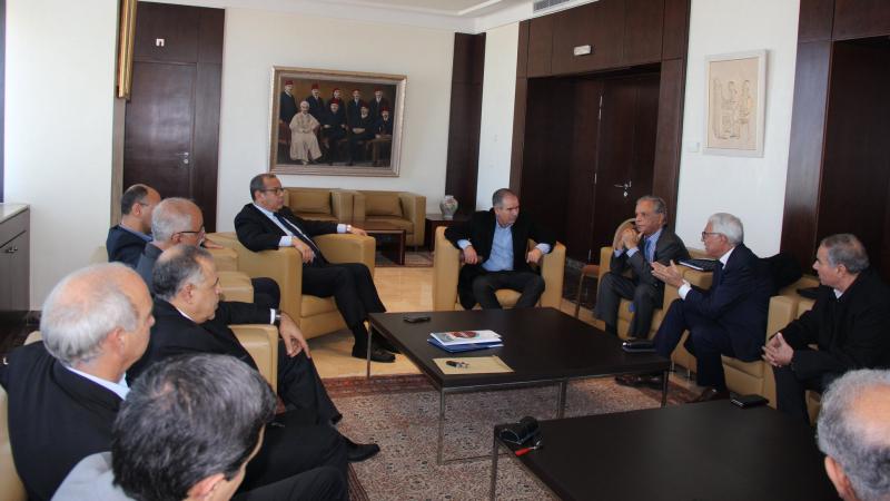 الطبوبي يشارك في جلسة لماجول حول أزمة قطاع الألبان