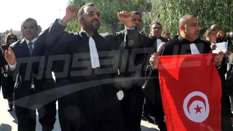 المحامون يواصلون إضرابهم لثلاثة أيام متواصلة