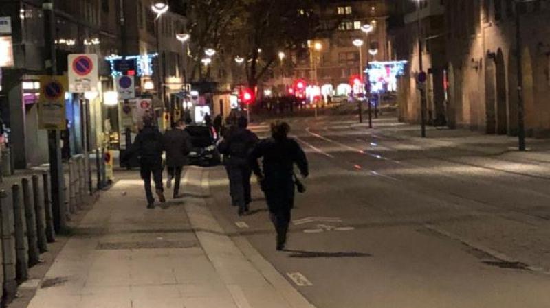 فيديو يصور أولى لحظات الهجوم المسلح في ستراسبورغ