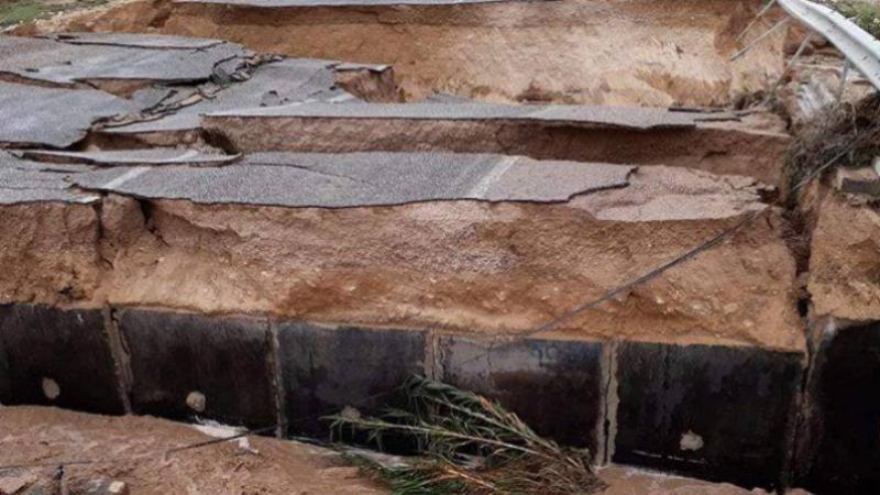 القصرين: انطلاق أشغال إصلاح منشأة مائية متضررة جراء الأمطار