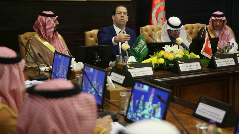 الشاهد يدعو رجال الأعمال السعوديين لمضاعفة الاستثمارات في تونس
