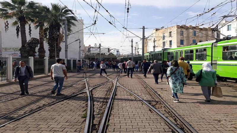 عطب فني يوقف حركة الميترو بين محطة ''الباساج'' وباب الخضراء