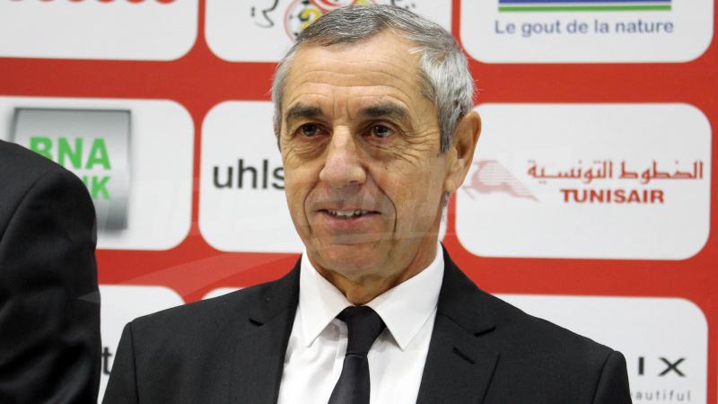 آلان جيراس: تدريب المنتخب التونسي كان دائما ضمن تطلّعاتي