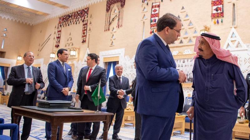 1850 مليون دينار حجم المساعدات المالية في زيارة الشاهد للسعودية
