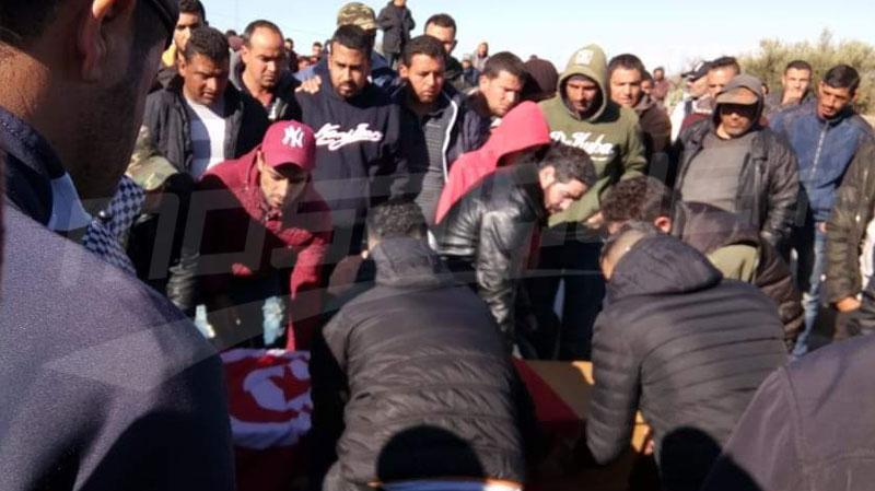 تشييع جثمان الشهيد خالد الغزلاني إلى مثواه الأخير