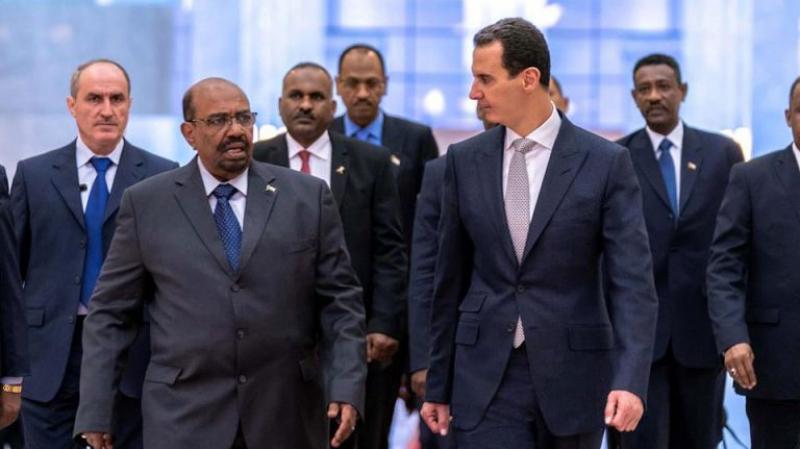 عمر البشير أول قائد عربي يزور سوريا منذ اندلاع أزمتها