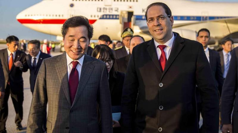 أول زيارة للوزير الأول الكوري الجنوبي لتونس