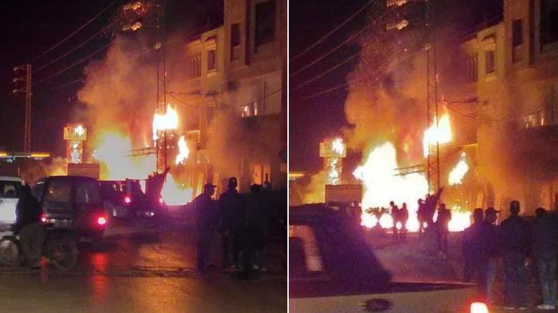دار شعبان الفهري: حريق يلتهم مغازة لبيع قطع غيار السيارات