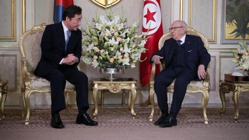 السبسي يلتقي الوزير الأول الكوري: دفع جديد للتعاون والاستثمار