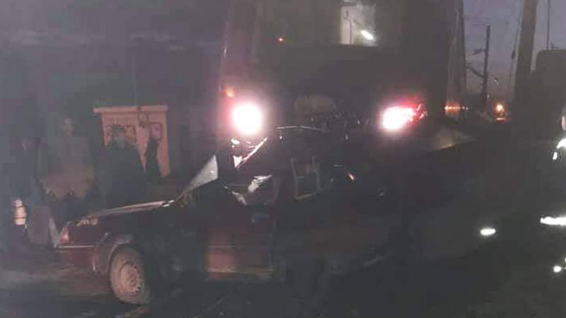 اصطدام سيارة بقطار: الشيمينو تؤكد توفر الإشارات والحواجز