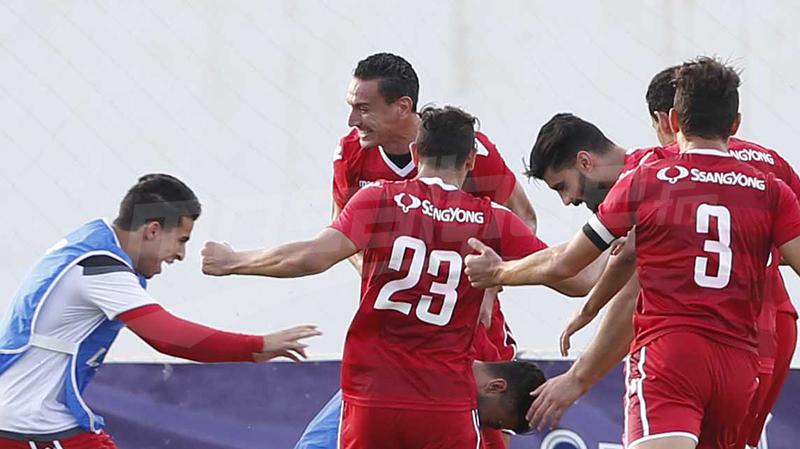 النجم يمضي رباعية في شباك الملعب التونسي