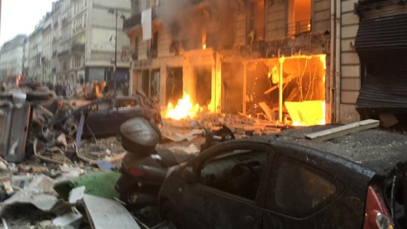 وفاة 3 أشخاص وإصابة حوالي 50 اخرين في انفجار باريس