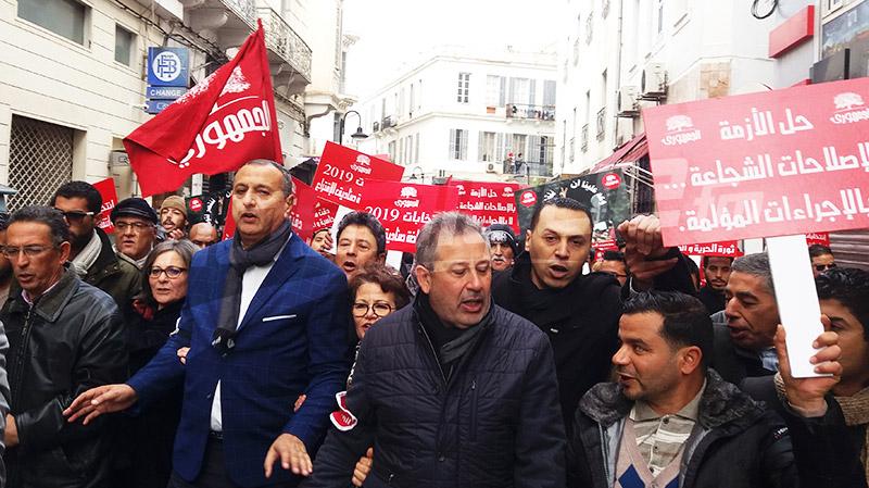 الشابي: 'تونس من غير بن علي ومن غير الطرابلسية خير'