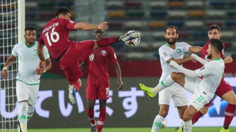 قطر تهزم السعودية على أرض الإمارات