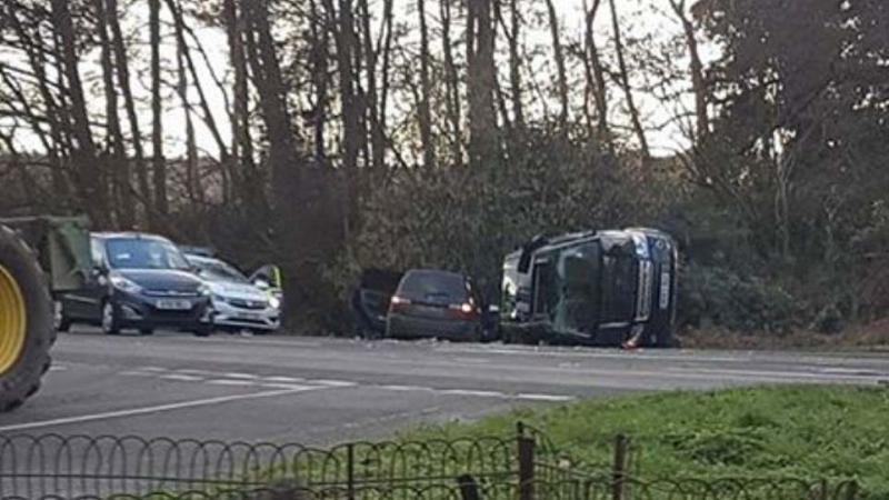 زوج ملكة بريطانيا ينجو من حادث مروّع