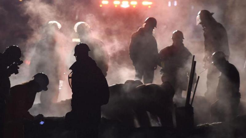 79 قتيلا في انفجار أنبوب بنزين في المكسيك