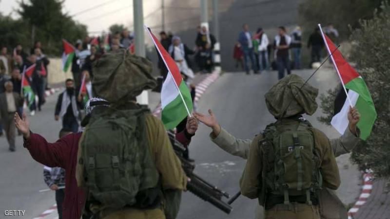 استشهاد فلسطيني برصاص الإحتلال في الضفة الغربية