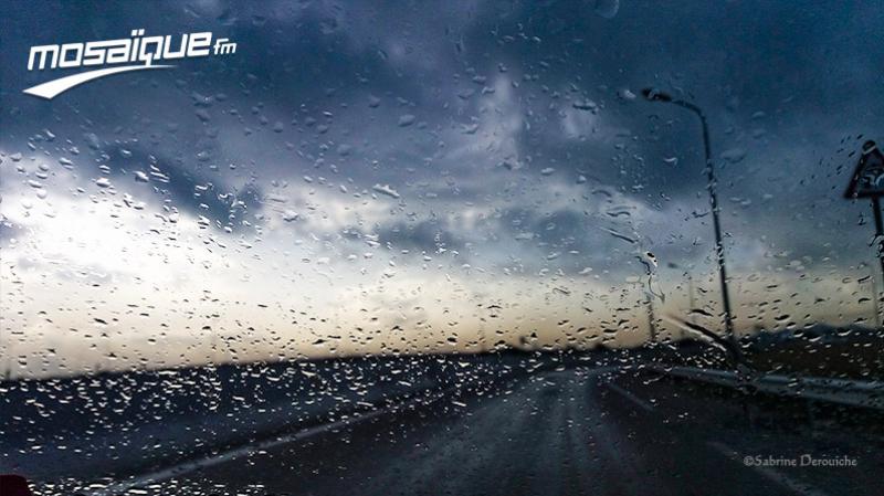 أمطار متفرقة وإنخفاض في درجات الحرارة يوم الأربعاء