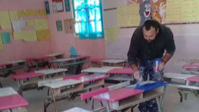 الهوارية: أمين الحارس ليلا والمتطوّع لمدينته نهارا
