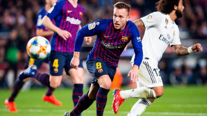 لقاء برشلونة والريل ينتهي بالتعادل والحسم في سانتياغو برنابيو