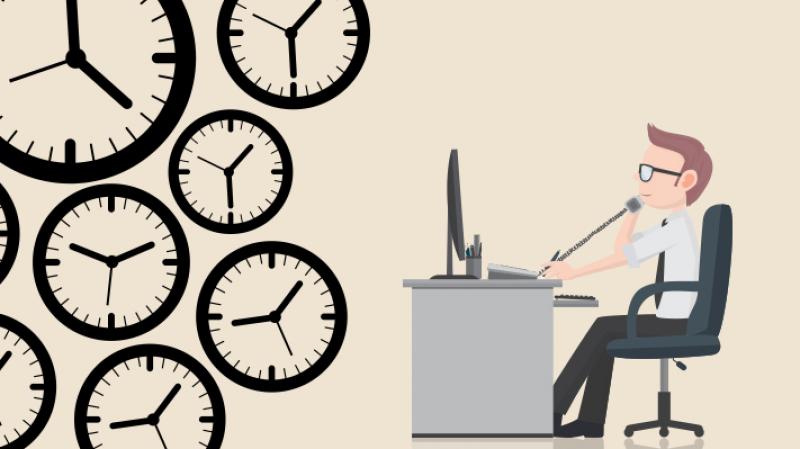 ساعات العمل الضائعة
