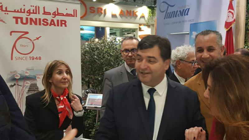 الطرابلسي في بورصة السياحة الدولية بميلانو:تونس وجهة سياحية آمنة