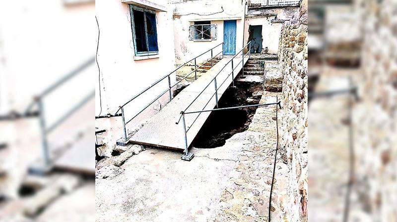 هدم السقيفة العثمانية داخل برج قليبية خلال أشغال ترميم!