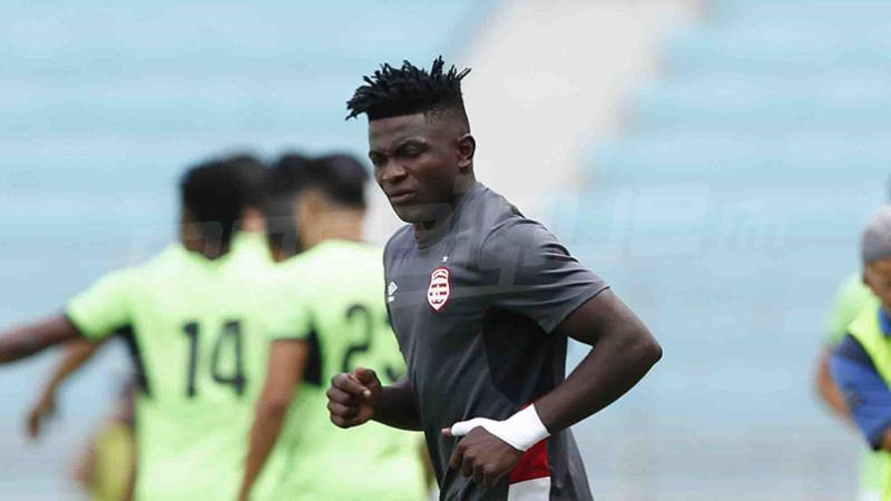النادي الإفريقي : موشيلي يغيب عن كأس السوبر