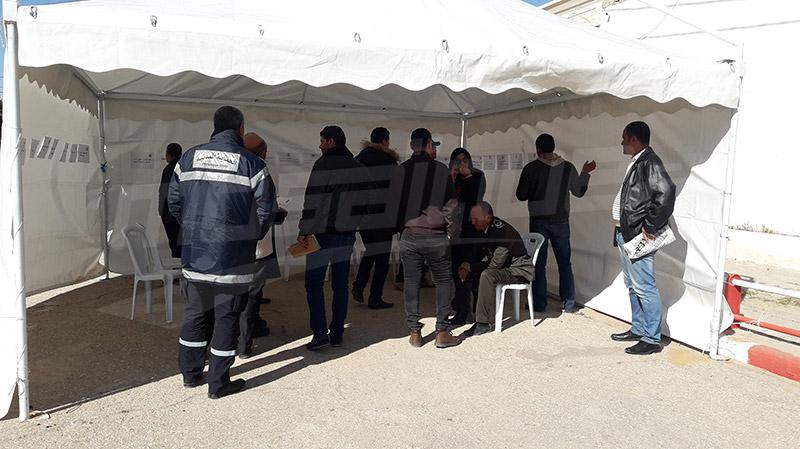 سيدي بوزيد: أعوان الأمن في إعتصام مفتوح