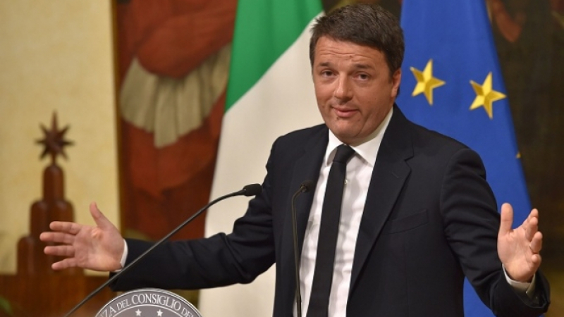رئيس وزراء إيطاليا السابق