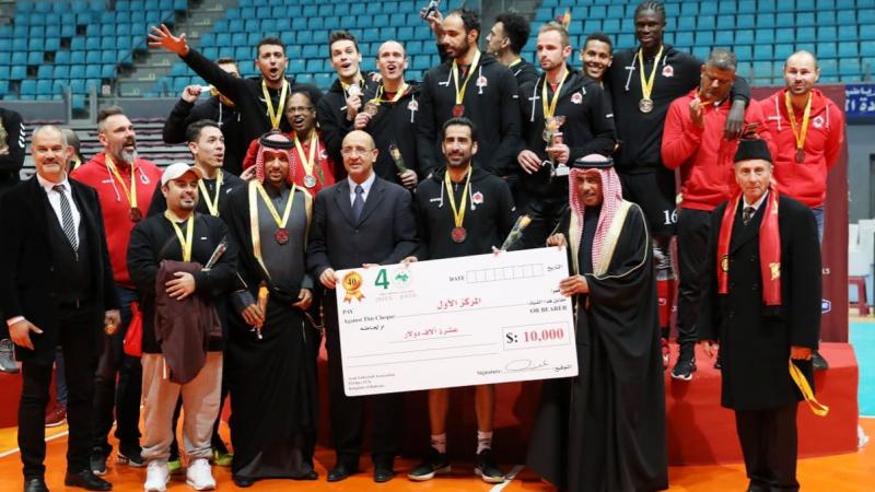 الترجي يضيع لقب البطولة العربية للكرة الطائرة