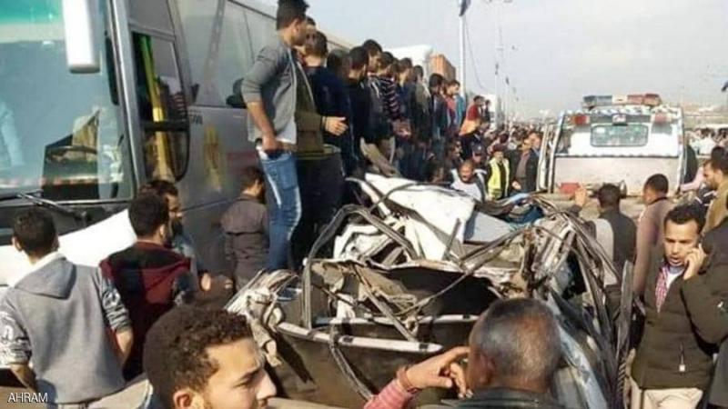 6 قتلى و32 جريحا في حادث مروري في مصر