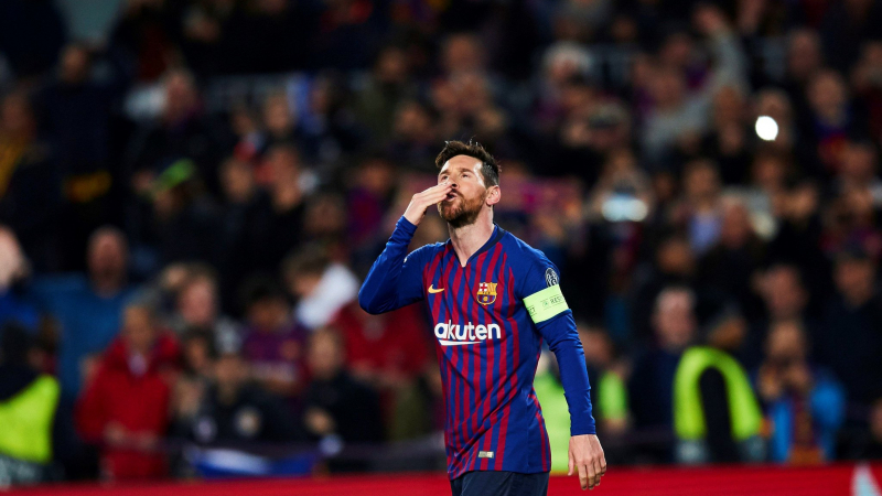 برشلونة يسحق ليون و ليفربول يذل بيارن على ملعبه