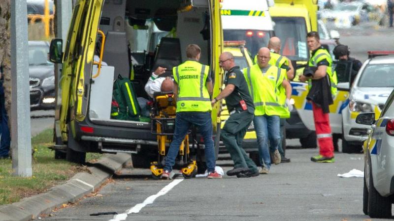 عرب من بين المصابين في الهجوم الإرهابي على مسجدين بنيوزيلاندا