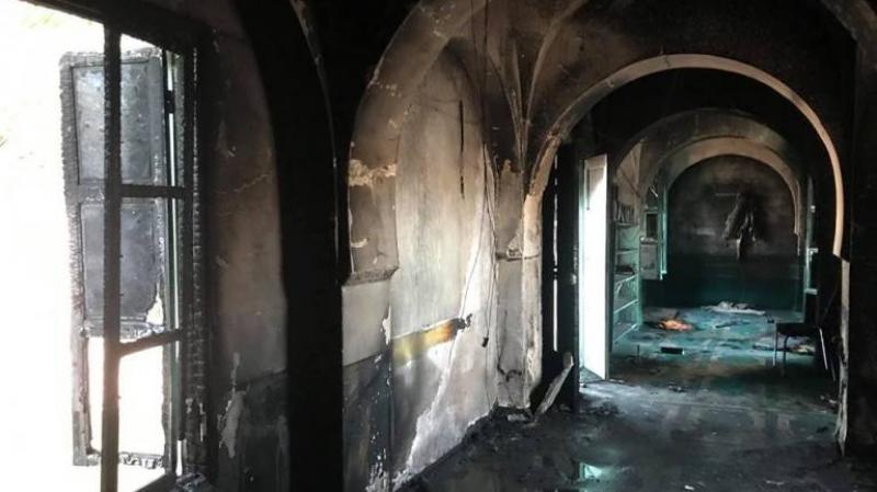 سبيطلة: حريق داخل مسجد العبادلة