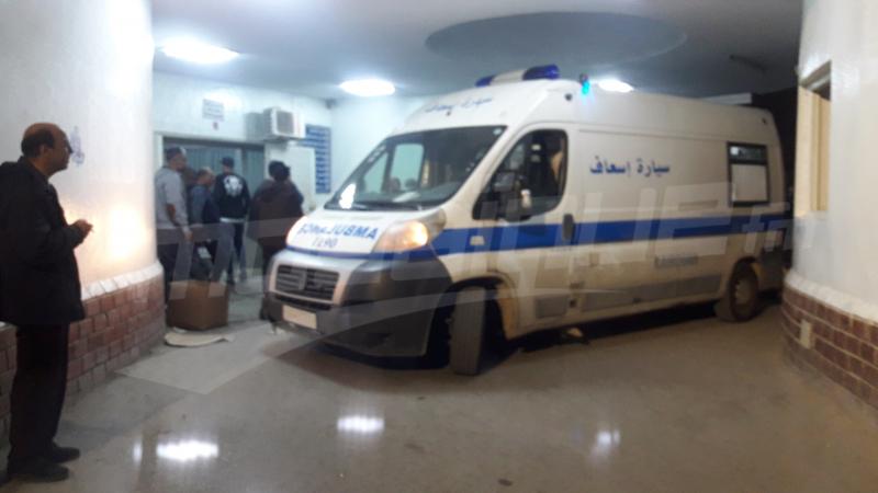 انهيار جدار قاعة عزيز ميلاد:ارتفاع عدد المصابين إلى 34 حالة