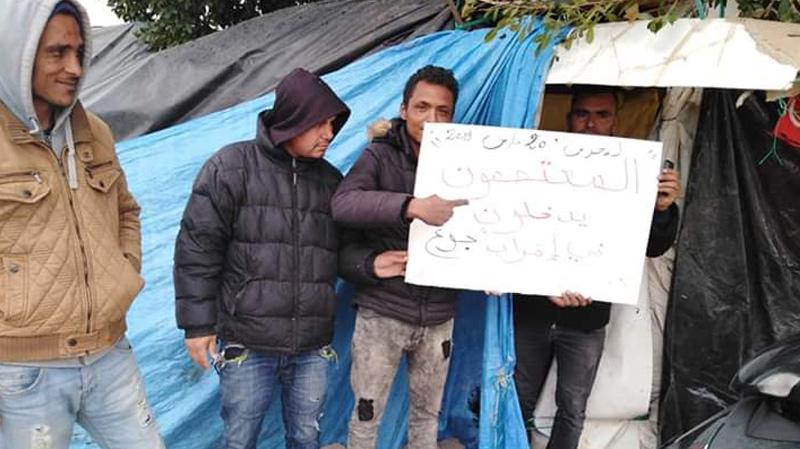 صفاقس: 12 شابا في إضراب جوع