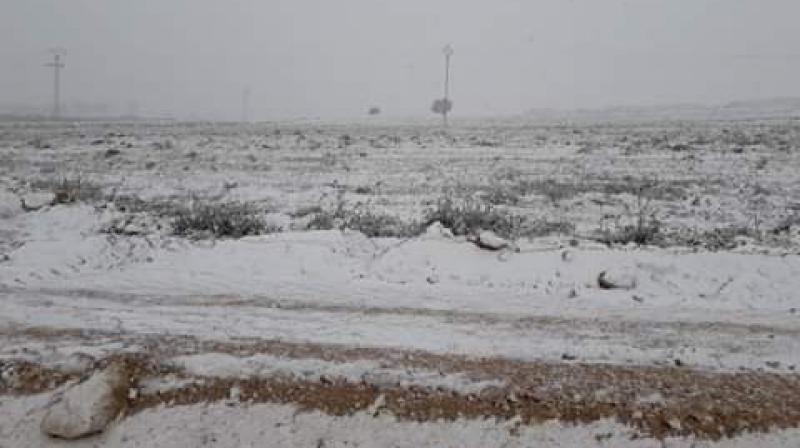 القصرين:البياض يعود إلى الحدود التونسية الجزائرية