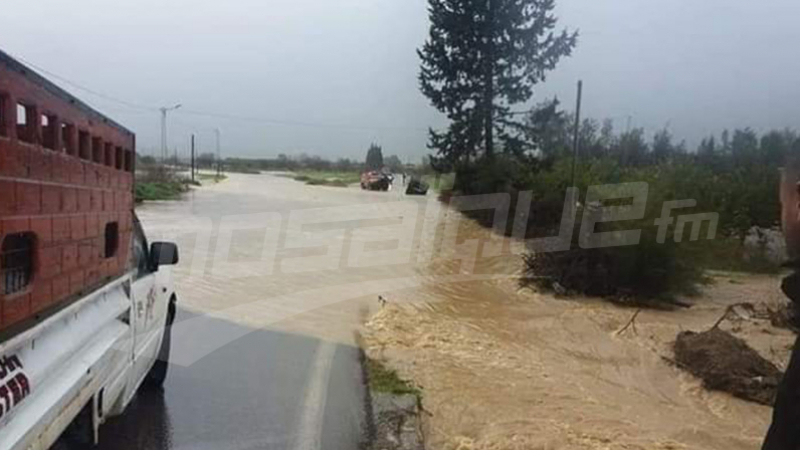 قائمة الطرقات المقطوعة بسبب الأمطار